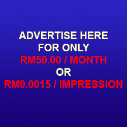 Advertisement for RM50/month